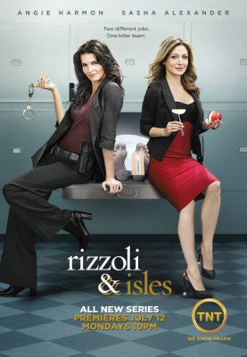 Rizzoli and Isles Poster 24x36 - Fame Collectibles