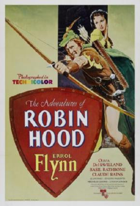 Robin Hood Movie Poster 24in x 36in - Fame Collectibles