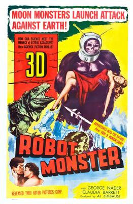Robot Monster Movie Poster 24x36 - Fame Collectibles