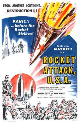 Rocket Attack Usa Movie Poster 24x36 - Fame Collectibles