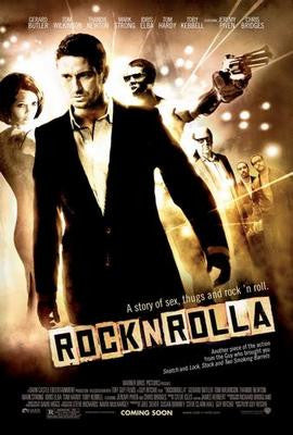 Rock N Rolla Movie Poster 24x36 - Fame Collectibles