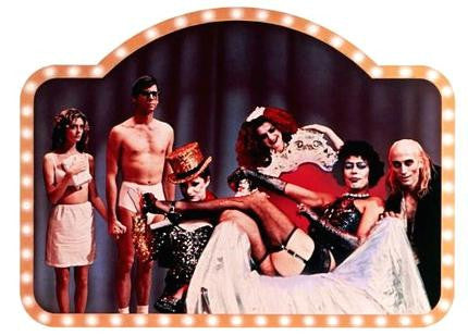 Rocky Horror Picture Show Movie Poster Cast 24x36 - Fame Collectibles