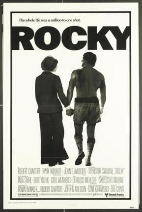 Rocky Movie Poster 24x36 - Fame Collectibles