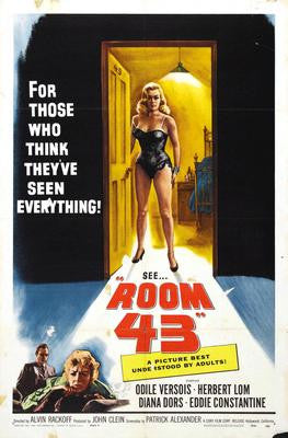 Room 43 Movie Poster 24x36 - Fame Collectibles