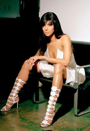 Roselyn Sanchez Poster Legs And Heels 24x36 - Fame Collectibles