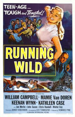 Running Wild Movie Poster 24x36 - Fame Collectibles