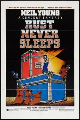 Rust Never Sleeps Poster 24inx36in - Fame Collectibles