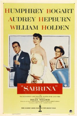 Sabrina Movie Poster 24x36 audrey hepburn 24x36 - Fame Collectibles