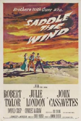 Saddle The Wind Movie Poster 24in x 36in - Fame Collectibles