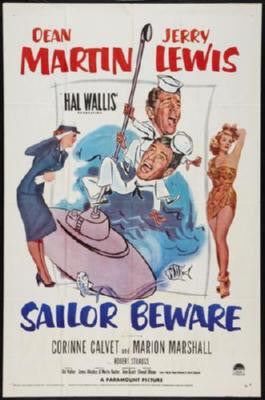 Sailor Beware Poster 24inx36in - Fame Collectibles