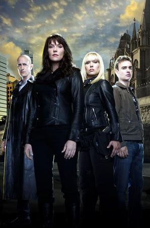 Sanctuary Poster cast 24x36 - Fame Collectibles
