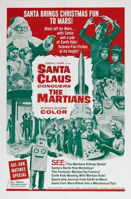 Santa Claus Conquers The Martians Movie Poster 24x36 - Fame Collectibles