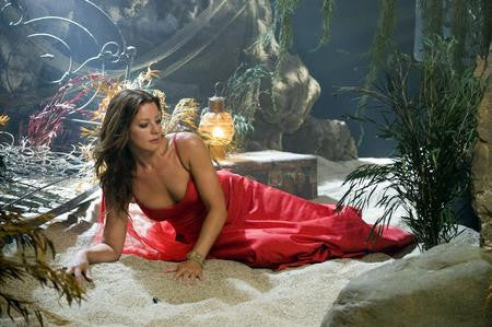 Sarah Mclachlan Poster glamour red dress 24x36 - Fame Collectibles