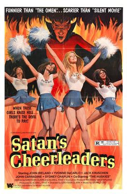 Satans Cheerleaders Movie Poster 24x36 - Fame Collectibles