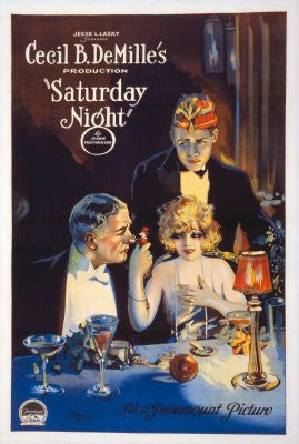 Saturday Night Movie Poster 24x36 - Fame Collectibles