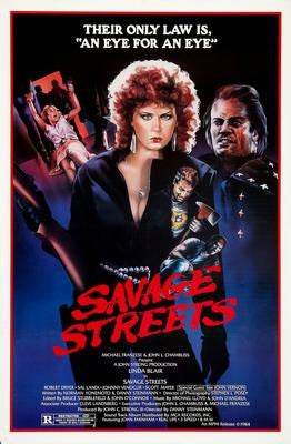Savage streets Movie Poster 24x36 - Fame Collectibles