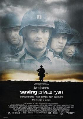 Saving Private Ryan Movie Poster 24x36 - Fame Collectibles