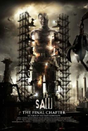 Saw 3D Movie Poster 24in x 36in - Fame Collectibles
