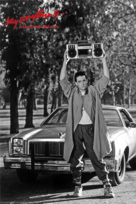 Say Anything Boom Box Poster Movie Poster 24x36 - Fame Collectibles