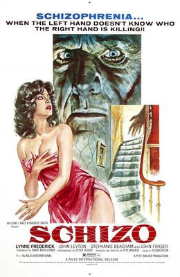Schizo Movie Poster 24x36 - Fame Collectibles
