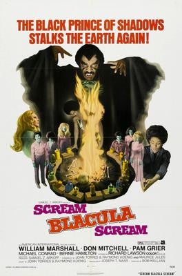 Scream Blacula Scream Movie Poster 24x36 - Fame Collectibles