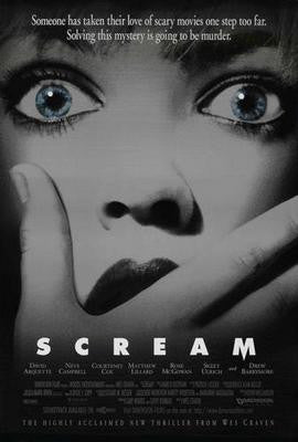 Scream Movie Poster 24x36 - Fame Collectibles