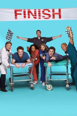Scrubs Cast Poster 24x36 - Fame Collectibles