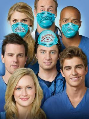 Scrubs Poster #03 Masks 24inx36in - Fame Collectibles