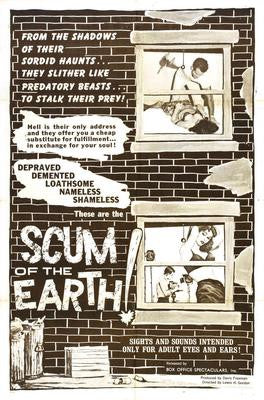 Scum Of The Earth Movie Poster 24x36 - Fame Collectibles