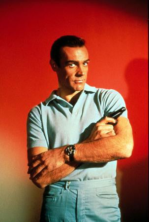 Sean Connery Poster James Bond Gun #2 24x36 - Fame Collectibles