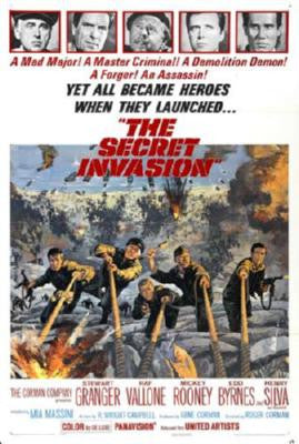 Secret Invasion Movie Poster 24in x 36in - Fame Collectibles