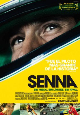 Senna Italian Movie Poster 24x36 Ayrton Senna 24x36 - Fame Collectibles