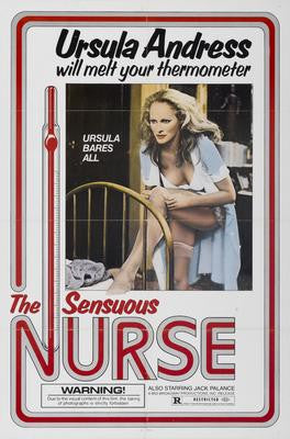 Sensuous Nurse The Movie Poster 24x36 - Fame Collectibles