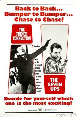 Seven Ups Movie Poster 24x36 - Fame Collectibles
