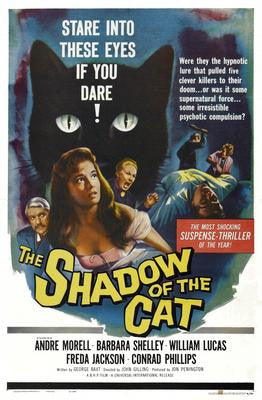 Shadow Of The Cat Movie Poster 24x36 - Fame Collectibles