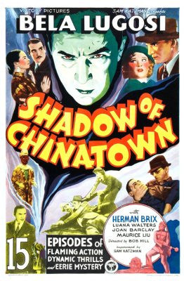 Shadow Of Chinatown Movie Poster 24x36 - Fame Collectibles