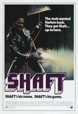 Shaft Movie Poster 24x36 - Fame Collectibles