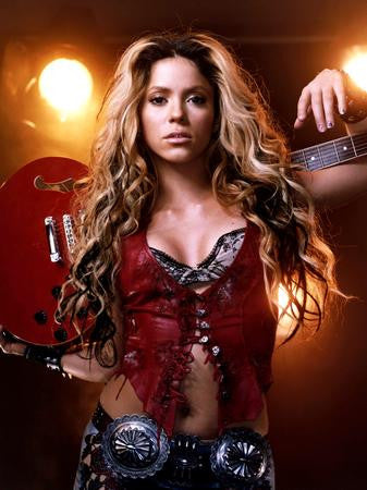 Shakira Poster bustier 24x36 - Fame Collectibles