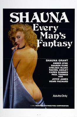 Shauna Grant Every Mans Fantasy Movie Poster 24x36 - Fame Collectibles