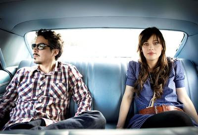 She And Him Zooey Deschanel & M. Ward Poster 24x36 - Fame Collectibles