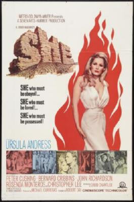 She Movie Poster 24in x 36in - Fame Collectibles