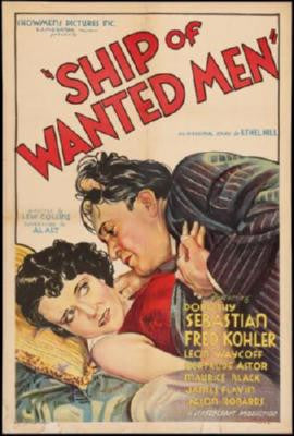 Ship Of Wanted Men Movie Poster 24in x 36in - Fame Collectibles