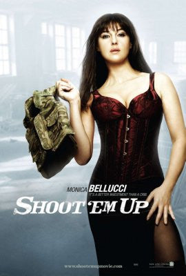 Shoot Em Up Movie Poster 24x36 - Fame Collectibles