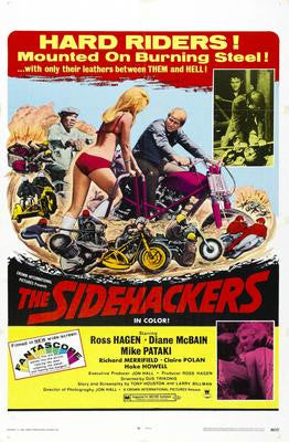 Sidehackers The Movie Poster 24x36 - Fame Collectibles