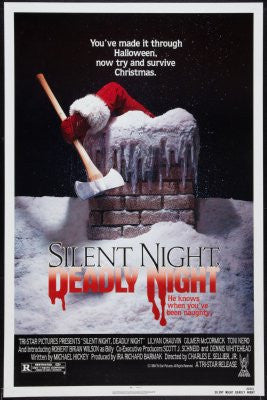 Silent Night Deadly Night Movie Poster 24x36 - Fame Collectibles