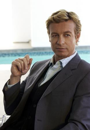 Simon Baker Poster Mentalist 24x36 - Fame Collectibles