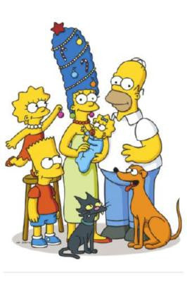 Simpsons Poster 24in x 36in - Fame Collectibles