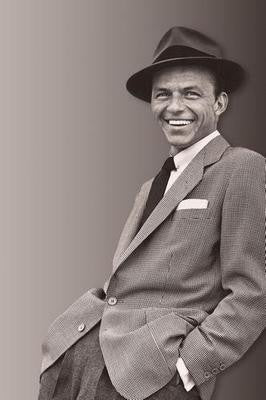 Frank Sinatra Suit Fedora 8x10 photo - Fame Collectibles
