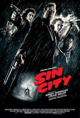 Sin City Movie Poster 24x36 - Fame Collectibles