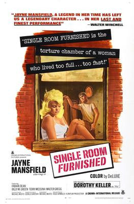 Single Room Furnished Movie Poster 24x36 - Fame Collectibles